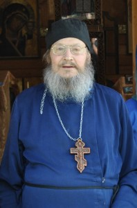 Отец Андрей Суховский, первый настоятель храма.